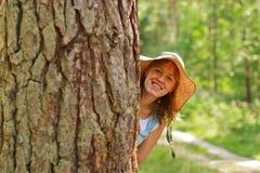 Divertimento della foresta Immagini Stock Libere da Diritti