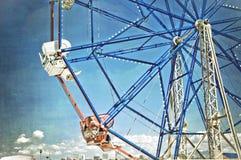 Divertimento della rotella di Ferris Immagine Stock