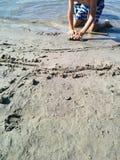Divertimento della sabbia di estate Immagine Stock
