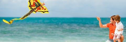 Divertimento della spiaggia fotografie stock libere da diritti