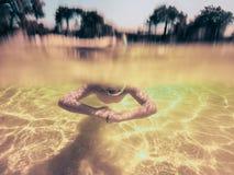 Divertimento della spiaggia di estate fotografie stock libere da diritti