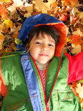 Divertimento di autunno Fotografie Stock