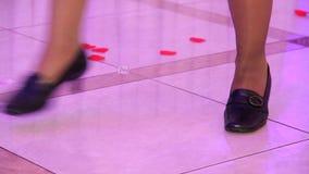 Divertimento di ballo al partito archivi video