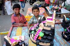 Divertimento di Diwali Immagine Stock