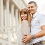 Divertimento di felicità delle coppie Fotografia Stock Libera da Diritti