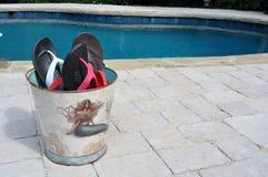 Divertimento di Flip-flop Immagini Stock Libere da Diritti