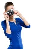Divertimento di fotografia. Fotografie Stock