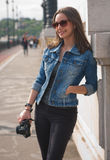 Divertimento di fotografia Fotografie Stock