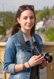 Divertimento di fotografia Fotografie Stock Libere da Diritti