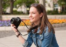 Divertimento di fotografia Fotografia Stock