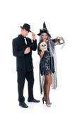 Divertimento di Halloween Fotografia Stock