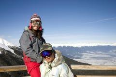 Divertimento di inverno Fotografie Stock