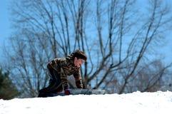 Divertimento di inverno Immagini Stock