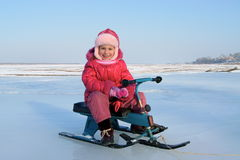 Divertimento di inverno fotografia stock libera da diritti