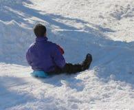 Divertimento di inverno fotografie stock libere da diritti