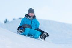 Divertimento di inverno Fotografia Stock