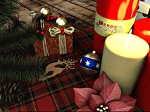 Divertimento di Mary Christmas immagine stock
