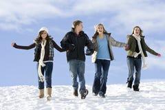 Divertimento di orario invernale Fotografia Stock Libera da Diritti