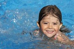 Divertimento do azul da água Imagem de Stock Royalty Free