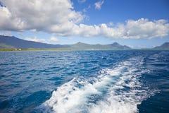 Divertimento do barco a motor Foto de Stock