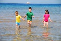 Divertimento do beira-mar Imagens de Stock Royalty Free