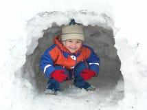Divertimento do inverno Fotografia de Stock Royalty Free