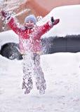 Divertimento do inverno Imagem de Stock