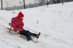 Divertimento do inverno Fotos de Stock Royalty Free