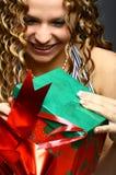 Divertimento do Natal Fotografia de Stock