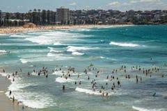 Divertimento do oceano em viril Fotografia de Stock Royalty Free