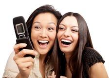 Divertimento do telefone Imagens de Stock Royalty Free