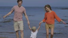 Divertimento ensolarado do beira-mar vídeos de arquivo