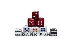 Divertimento escuro Imagem de Stock