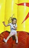 Divertimento Funky em um parque do verão Fotos de Stock