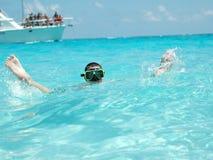 Divertimento molhado das férias Fotografia de Stock Royalty Free