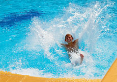 Divertimento na água Imagem de Stock Royalty Free