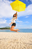 Divertimento na praia 9 Imagem de Stock Royalty Free