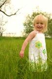 Divertimento nell'erba lunga Fotografie Stock