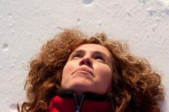 Divertimento nella neve Immagini Stock Libere da Diritti