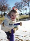 Divertimento nella neve immagini stock
