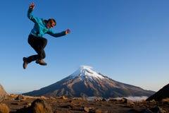 Divertimento nelle montagne Fotografia Stock Libera da Diritti