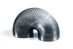 Divertimento Slinky immagine stock