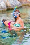 Divertimento subacqueo fotografie stock libere da diritti