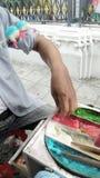 Divertimento Sugar Candy feito a mão Imagens de Stock