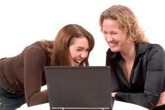 Divertimento sul Internet Fotografie Stock