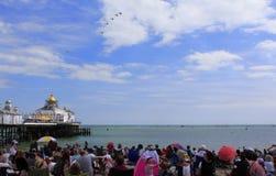 Divertimentos Inglaterra da praia de Eastbourne Fotografia de Stock Royalty Free