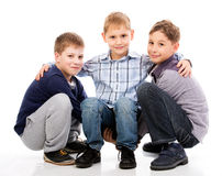 Divertiresi dei bambini Fotografie Stock Libere da Diritti
