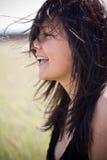 Divertirse en el viento Fotografía de archivo libre de regalías