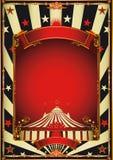 Divertissement gentil de cirque de vintage illustration stock