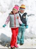 Divertissements de l'hiver Photographie stock libre de droits